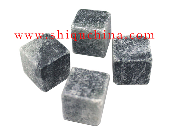 soap stone cube whiskey stone
