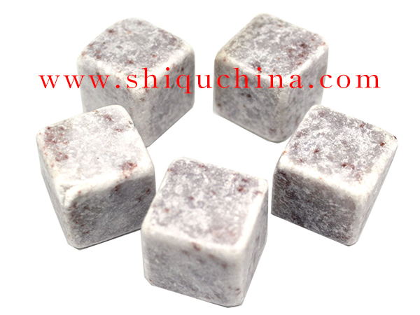 2cm cube whisky soap stone set